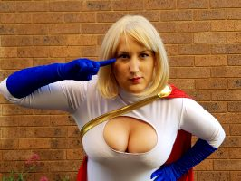 Power Girl By Princessjazzcosplay