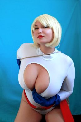 Power Girl From DC Comics By Lisitsa
