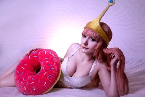 Princess Bubblegum From Adventure Time By By.Yulli