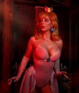 Princess Peach By AGflower Cosplay