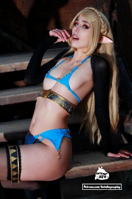 Princess Zelda Erocosplay By Kate Key