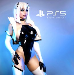 PS5-Chan By AZURACOSPLAY