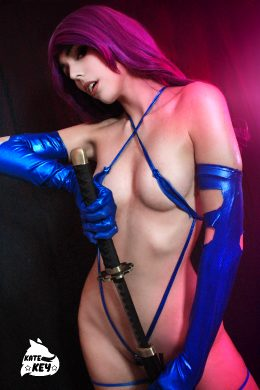 Psylocke Erocosplay By Kate Key ❤️ ?