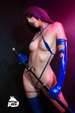 Psylocke Erocosplay – By Kate Key