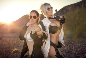 PUBG With Meg Turney And Jessica Nigri