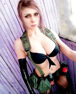 Quiet Cosplay From Metal Gear Solid By Octokuro