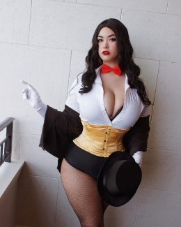Quinnley Blaque As Zatanna, DC