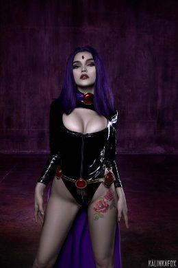 Raven From DC Universe By KalinkaFox
