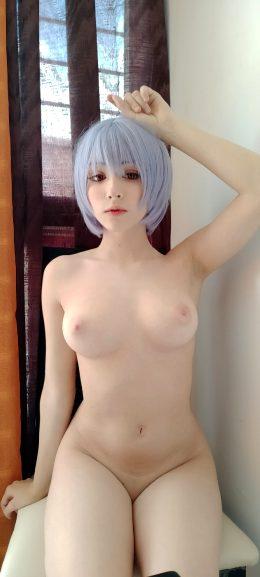 Rei Ayanami From Neon Genesis Evangelion By Mochidolll