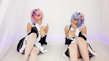 Rem And Ram Cosplay By Lana Luv