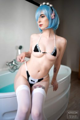Rem From Re Zero By Kerocchi