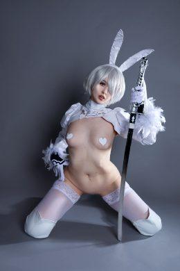 Reverse Bunny 2B By Gumihocosplay