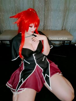 Rias Gremory Cosplay By Myself
