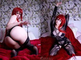 Rias Trying To Show You Her Naughtiest Side😈 Erocosplay By Ana Chuu