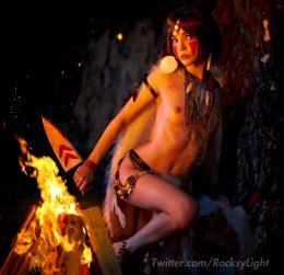 Rocksy Light As San – Wolf Girl, Princess Mononoke