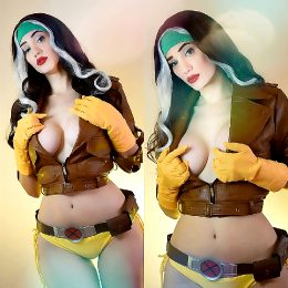 Rogue From X-Men By Sophie Valentine