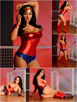 Romi Rain As Wonder Woman
