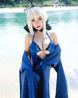 Saber From The Fate Series By Nana_cosplay9