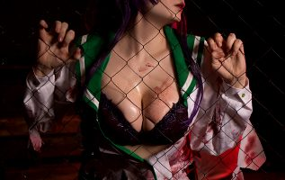 Saeko Busujima From High School Of The Dead By Shadory