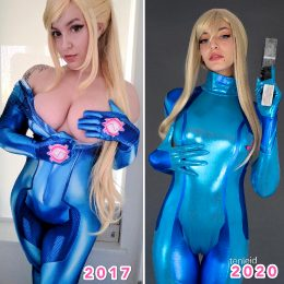 Samus By Tenleid
