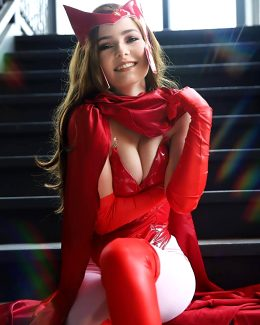 Scarlet Witch By OMGcosplay