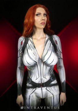 Scarlett Johansson As Black Widow By Intraventus