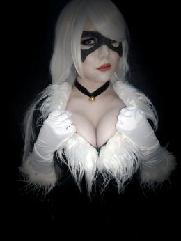 Sexy Blackcat By Vanysher_ Https://ko-fi.com/vanysher
