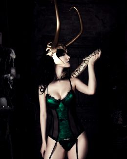 Shiera As Lady Loki, Marvel