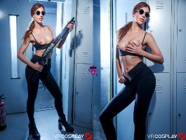 Shona River As Sarah Connor – The Terminator