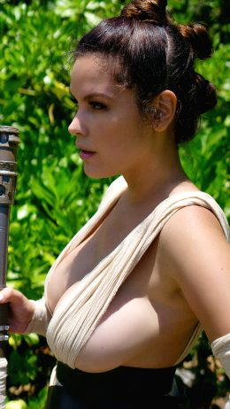 Side Boob Rey By Danny Cozplay