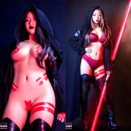 Sith Cosplay By Ahri Uwu