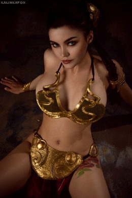 Slave Leia By KalinkaFox