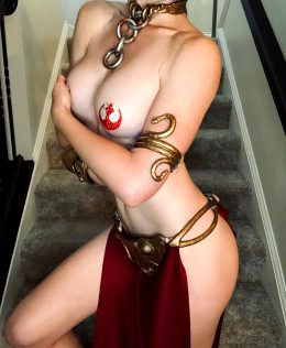 Slave Leia By Naughty4nerds
