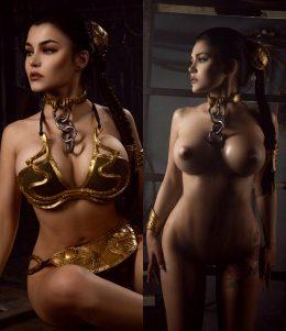 Slave Leia From Star Wars By Kalinka Fox