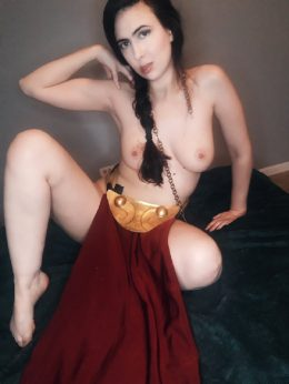Slave Leia From Star Wars By Kessie Vao