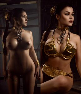 Slave Leia On/Off By Kalinka Fox