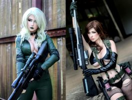 Sniper Wolf And Quiet By Giu Hellsing