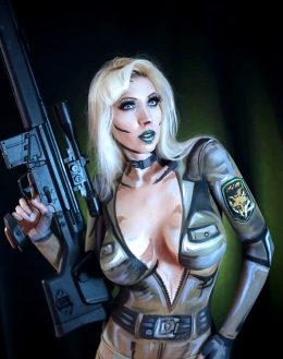 Sniper Wolf Body Paint By Intraventus