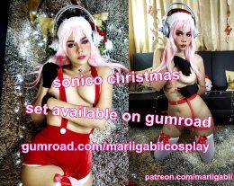 Sonico Christmas – Mariigabii Cosplay