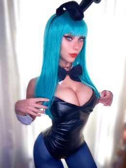 Soryu Geggy As Bulma, Dragon Ball