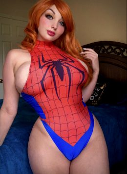 Spider Girl By Erin Eevee