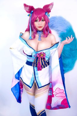 Spirit Blossom Ahri By Hana Bunny