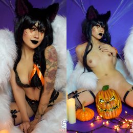 Spooky Ahri Concept From League Of Legends – By Felicia Vox