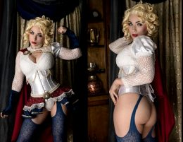 Steampunk Powergirl By Jennifer Van Damsel