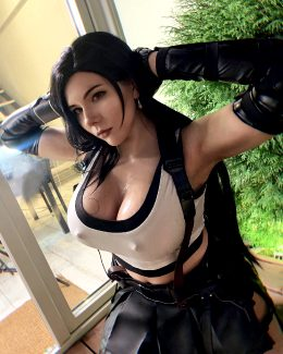 Sweaty Tifa By Xkalty