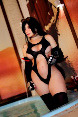 Swimsuit Tifa By Giu Hellsing