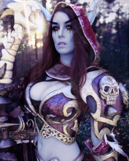 Sylvanas Cosplay From WOW By Beaupeep