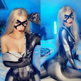 Symbiote Blackcat – By Kate Key