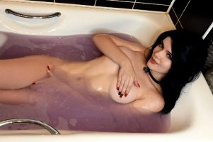 Take A Bath With Me! ~ Yennefer By Evenink_cosplay