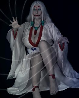 Tenshi As Mother Spider Demon, Kimetsu No Yaiba